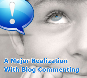 blog commenting relization